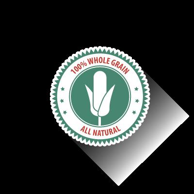 Non-gmo corn badge