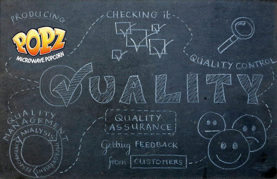 Popz quality process