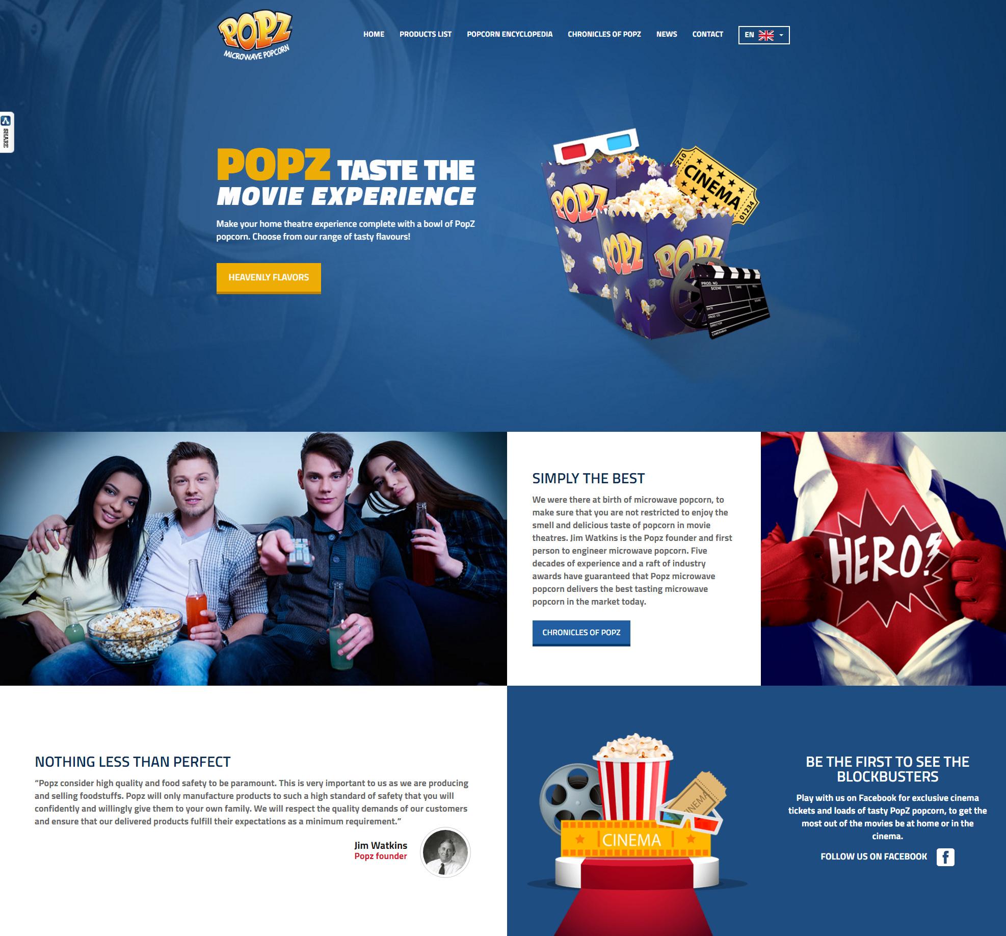 Η Popz εγκαινιάζει νέα ιστοσελίδα
